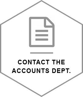 Contact the accounts department
